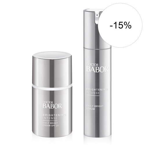 Daily Bright Serum & Daily Bright Cream SPF20 (για πανάδες)